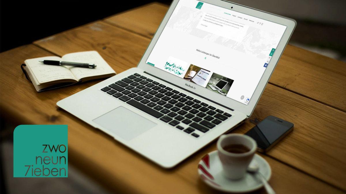 ZwoNeun7ieben – Meine neue Webseite ist online